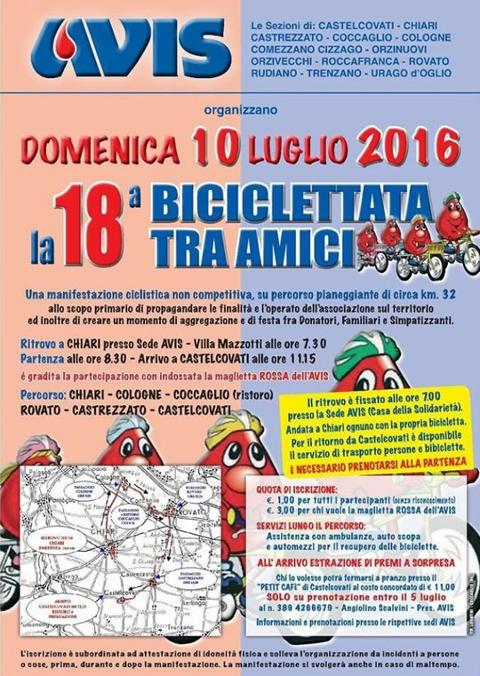 18 Biciclettata tra Amici a Chiari