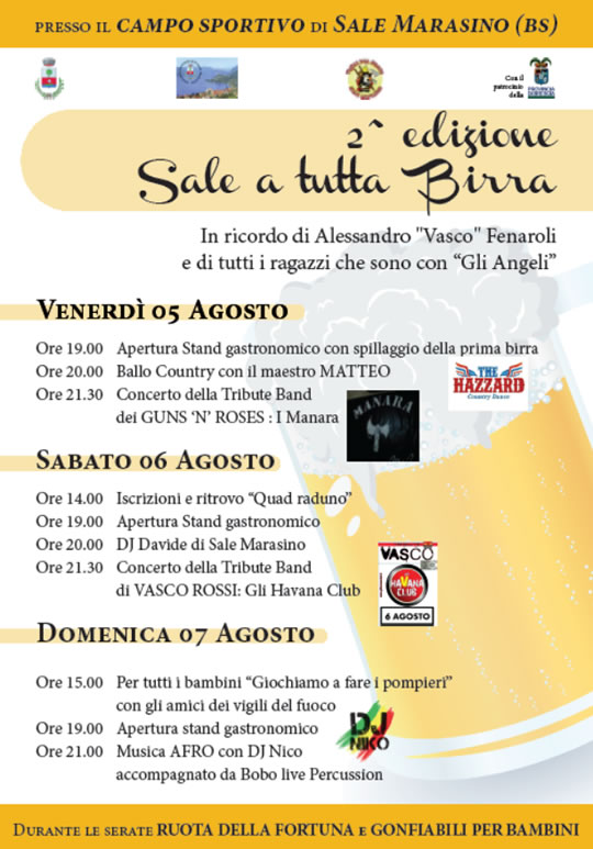 2 Sale a Tutta Birra a Sale Marasino