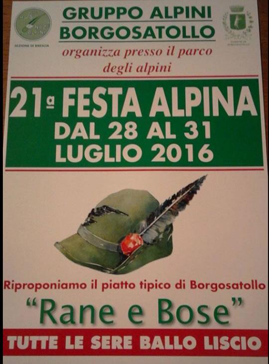 21 Festa Alpina a Borgosatollo
