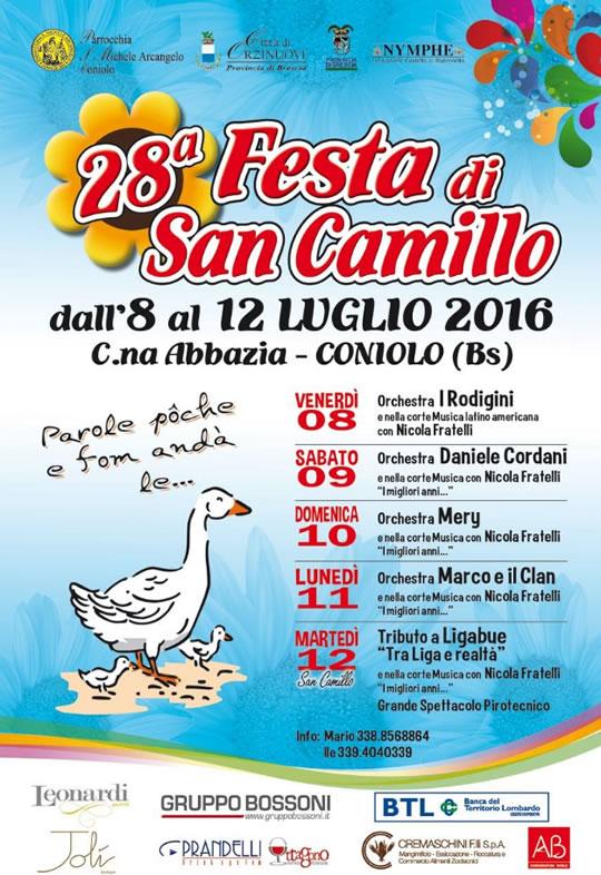 28 Festa di San Camillo a Coniolo