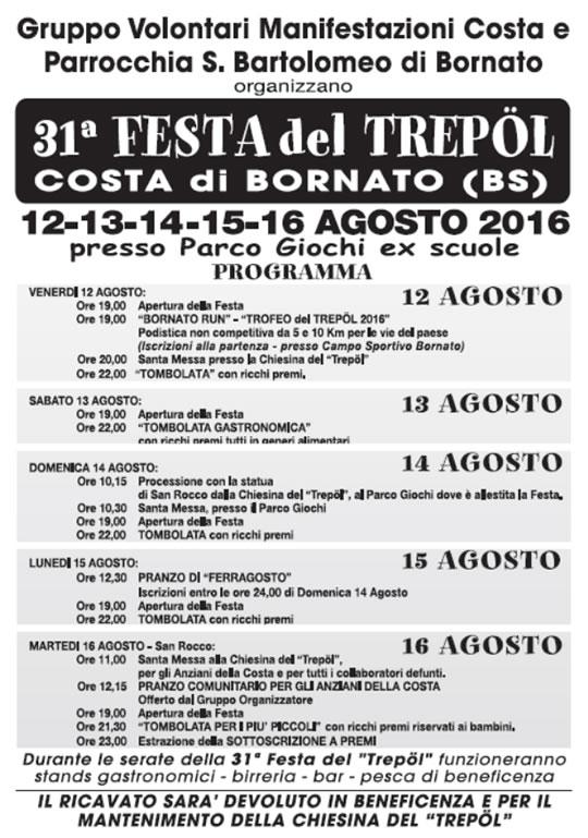 31 Festa del Trepol a Costa di Bornato