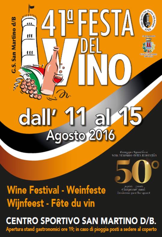 41 Festa del Vino a San Martino della Battaglia