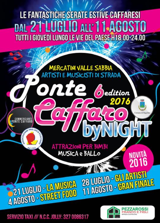 6 Ponte Caffaro by Night