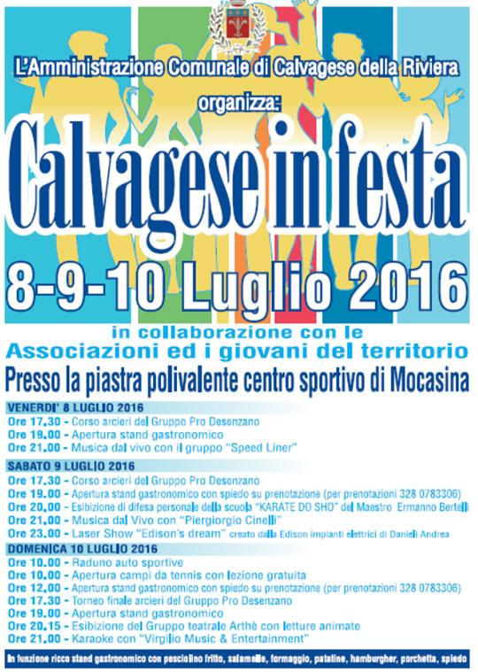Calvagese in Festa a Calvagese della Riviera