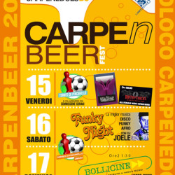CarpenBeer Fest 2016 a Carpenedolo