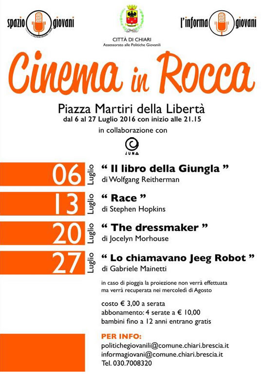 Cinema in Rocca a Chiari