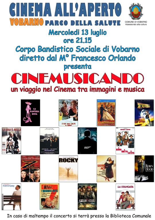 Cinemusicando a Vobarno
