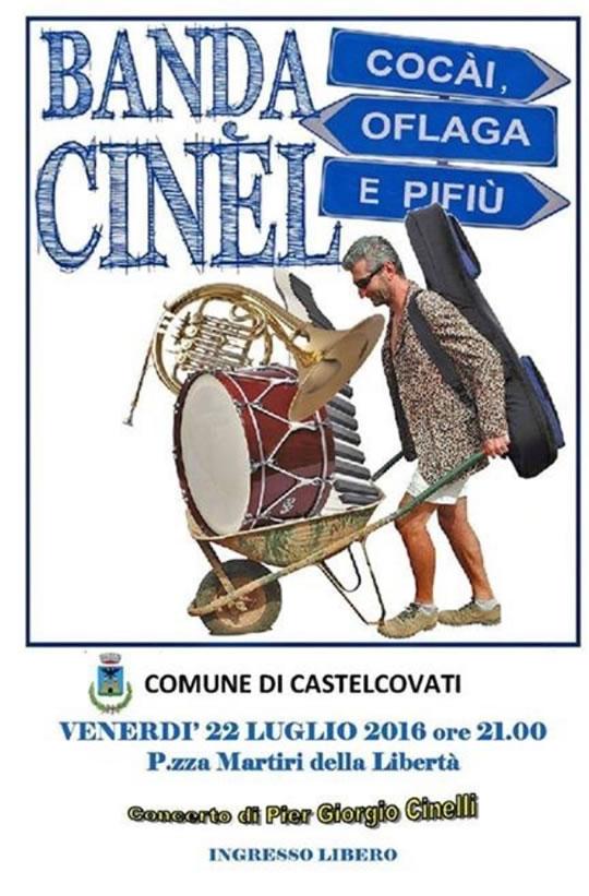 Concerto Pier Giorgio Cinelli a Castelcovati