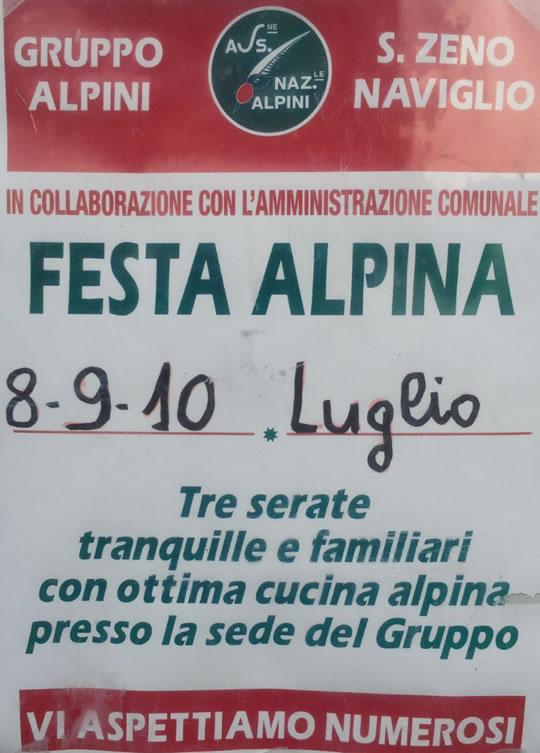 Festa Alpina a San Zeno Naviglio