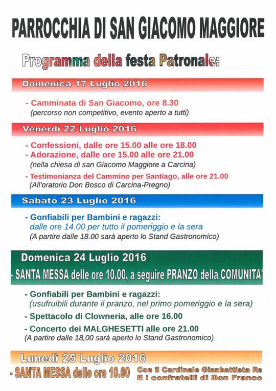 Festa Patronale a Villa Carcina