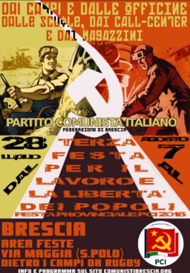 Festa Provinciale PCI Brescia