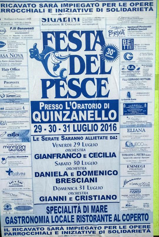 Festa del Pesce di Quinzanello