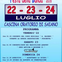 Festa della Banda a Saiano