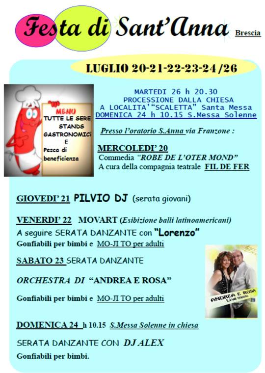 Festa di Sant'Anna a Brescia