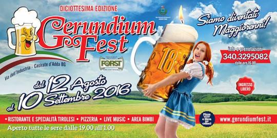 Gerundium Fest a Casirate d'Adda BG Gerundium Fest a Casirate d'Adda BG