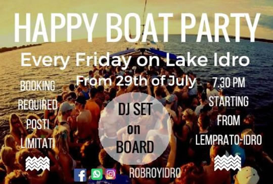Happy Boat Party a Idro