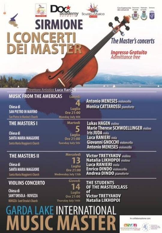 I Concerti dei Master a Sirmione