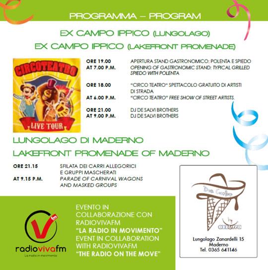 Il Carnevale del Golfo Toscolano Maderno