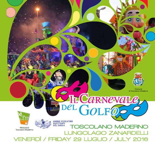 Il Carnevale del Golfo a Toscolano Maderno