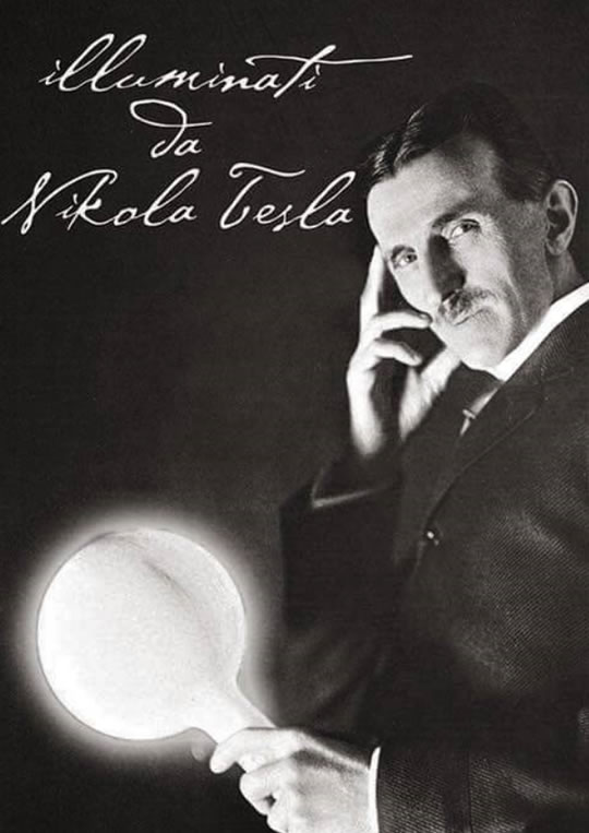 Illuminati da Nikola Tesla al Castello di Boldeniga