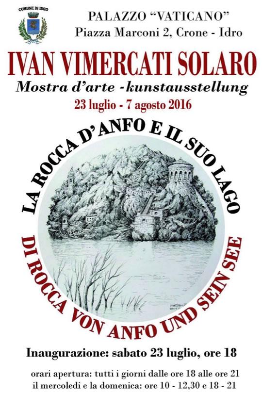Mostra La Rocca d'Anfo e ill suo Lago a Idro