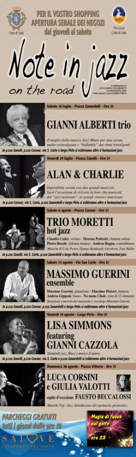 Note in Jazz on the road a Salò