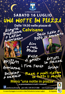 Notte in piazza