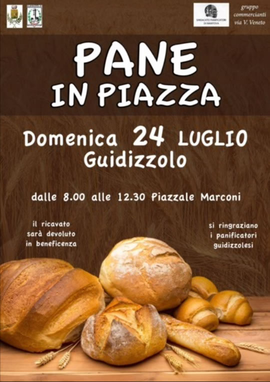 Pane in Piazza a Guidizzolo