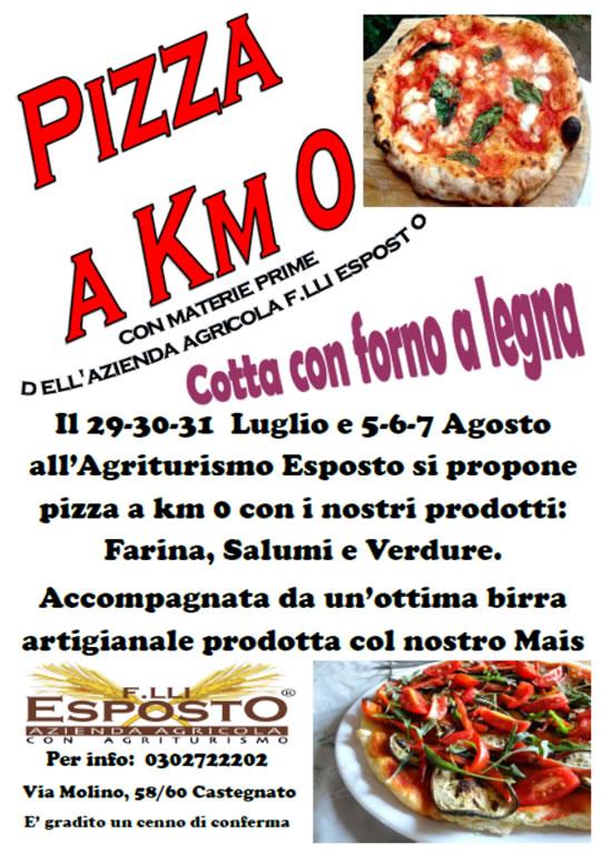 Pizza a KM 0 a Castegnato