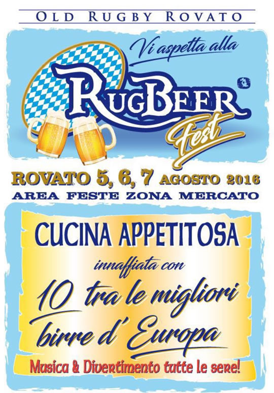 RugBeer Fest a Rovato