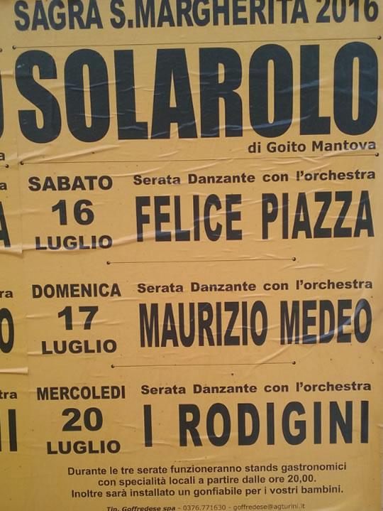 Sagra S. Margherita a Solarolo MN