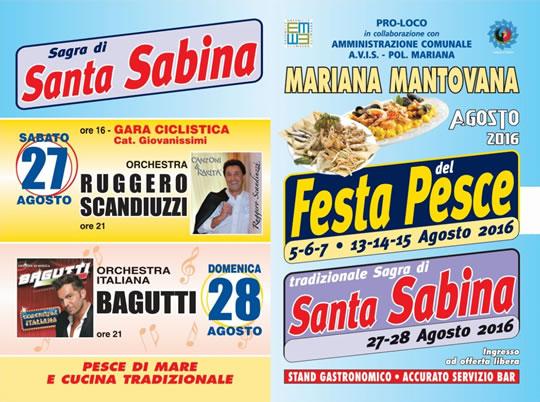 Sagra di Santa Sabina a Mariana Mantovana