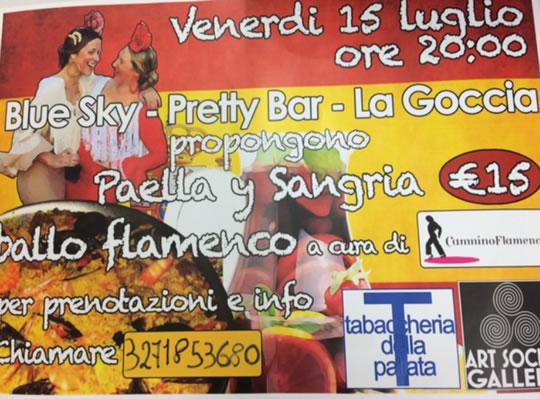 Serata Spagnola a Brescia