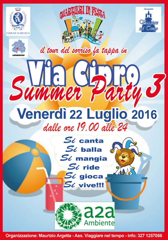 Summer Party 3 in via Cipro