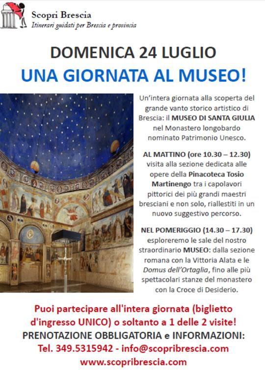 Una Giornata al Museo a Brescia