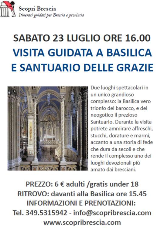 Visita Guidata a Basilica e Santuario delle Grazie