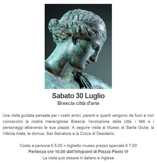 Visita Guidata a Brescia e Museo Santa Giulia