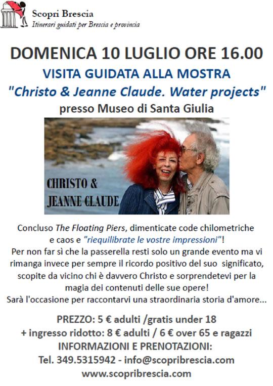 Visita guidata alla Mostra Christo e Jeanne Claude