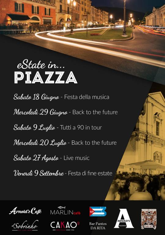 eState in Piazza a Brescia
