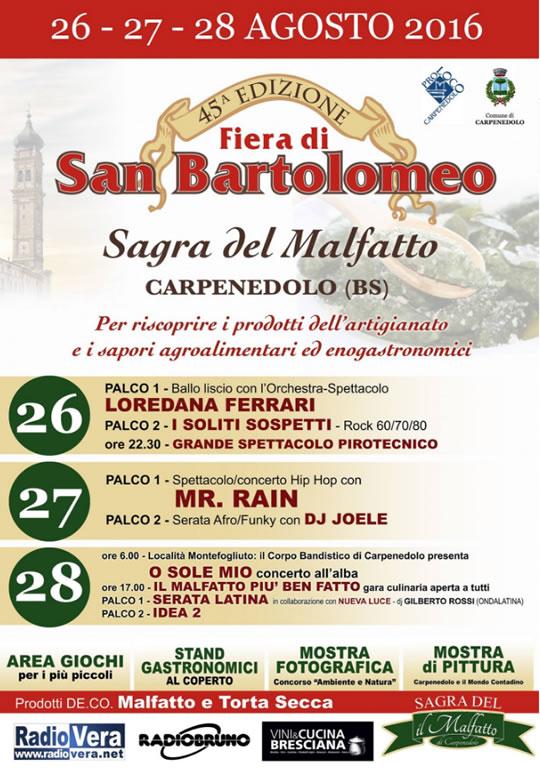 45 Fiera di San Bartolomeo a Carpenedolo