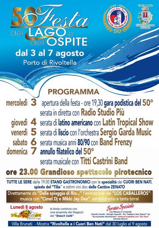 50 Festa del Lago e dell'Ospite a Rivoltella
