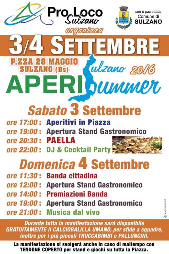 AperiSummer a Sulzano