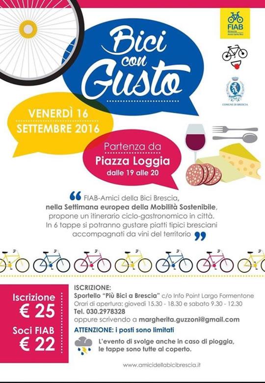 Bici con Gusto a Brescia