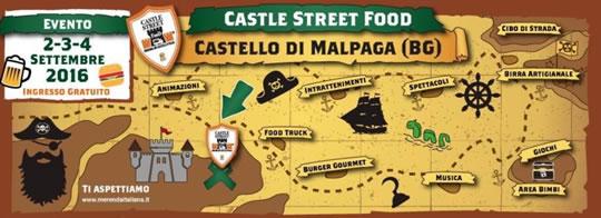Castle Street Food a Malpaga BG