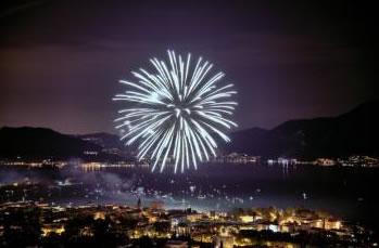 Ferragosto Fuochi d'Artificio a Iseo