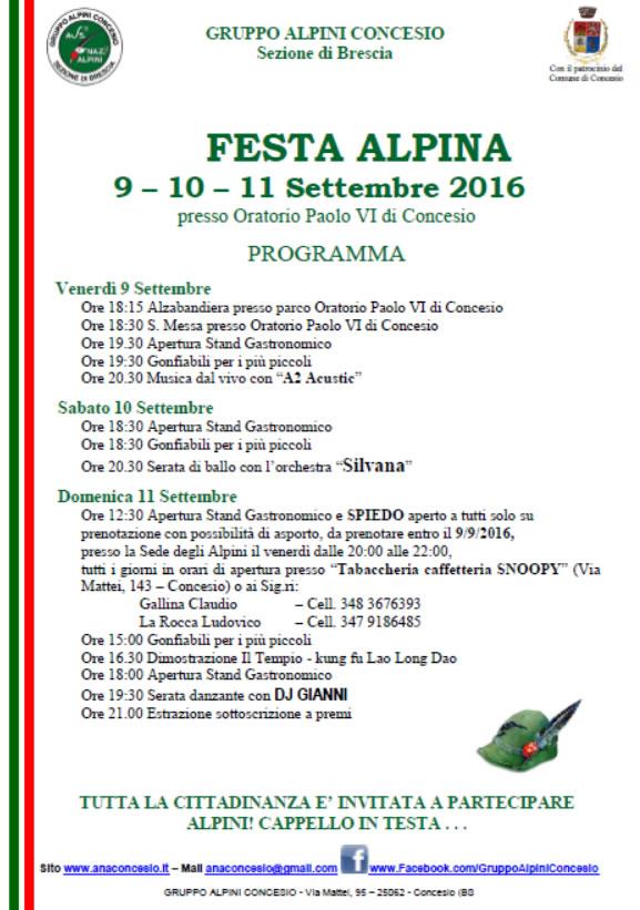 Festa Alpini Concesio