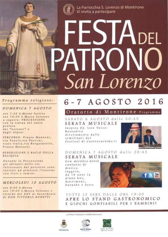 Festa del Patrono San Lorenzo a Montirone