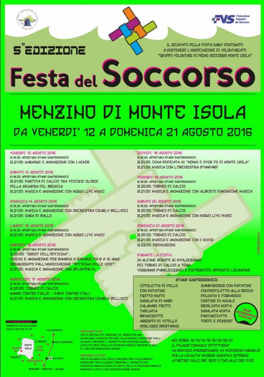 Festa del Soccorso a Monte Isola