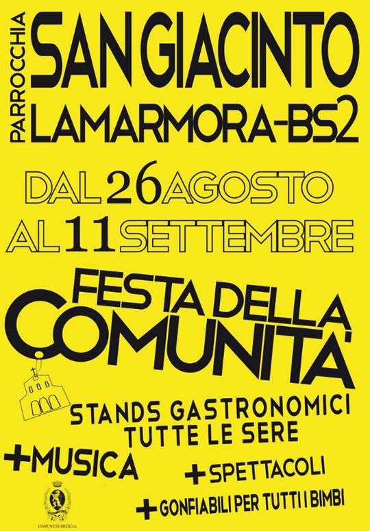 Festa della Comunità a Lamarmora