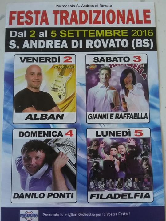 Festa di S. Andrea di Rovato